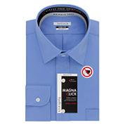Van Heusen Easy-Care Magnaclick Long Sleeve Dress Shirt