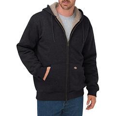 Dickies® Men's Sherpa-Lined Fleece Hooded Jacket - Big & Tall