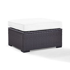 Biscayne Patio Ottoman With Cushions