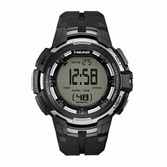 Head Super G Mens Black Strap Watch-He-104-03