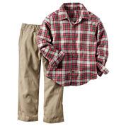 Carter's Boys 2-pc. Long Sleeve Pant Set-Baby