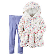 Carter's Girls 2-pc. Long Sleeve Pant Set-Baby