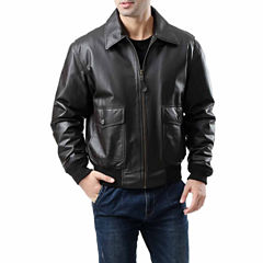 Landing Leathers Men's G-2 Flight Bomber Leather Jacket