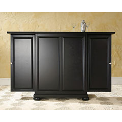 Alexandria Expandable Bar Cabinet
