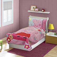 Peppa Pig 4-pc. Toddler Bedding Set