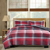 Woolrich Terrytown Softspun Down-Alternative Plaid Comforter Set