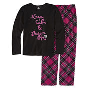 Total Girl Girls Pant Pajama Set-Big Kid & Plus