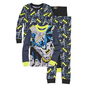 4-pc. Batman Pajama Set- Boys 4-10