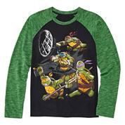 Teenage Mutant Ninja Turtle Raglan Tee - Boys 8-20