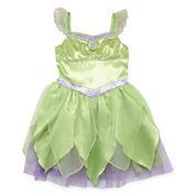 Disney Girls Tinker Bell Dress Up Costume-Big Kid