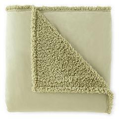 Micro Flannel® Sherpa-Back Blanket