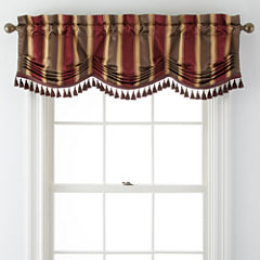 Royal Velvet® Clancy Rod-Pocket Tuck Valance