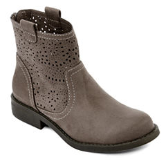 Arizona Marco Womens Laser-Cut Ankle Boots
