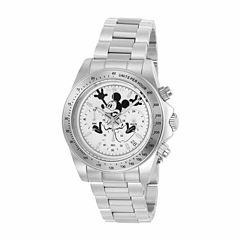Invicta Mens Silver Tone Bracelet Watch-22863