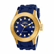 Invicta Mens Blue Strap Watch-22244