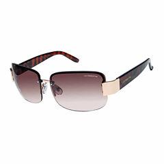 Liz Claiborne Rimless Rectangular UV Protection Sunglasses
