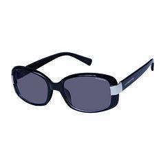 Liz Polarized Rectangle Rectangular UV Protection Sunglasses