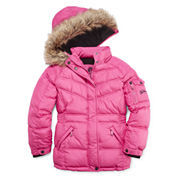 Vertical 9 Girls Heavyweight Puffer Jacket-Big Kid