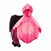 Carter's® 3-pc. Little Flamingo Halloween Costume - Baby Girls 3m-24m