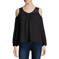 Decree® Cold Shoulder Top - Juniors
