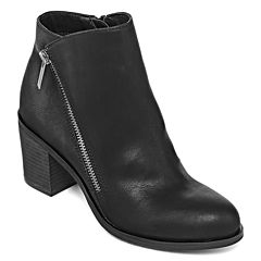 a.n.a® Otis Side Zip Ankle Booties