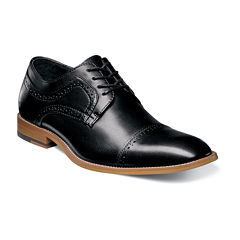 Stacy Adams® Dickinson Mens Leather Cap Toe Oxfords