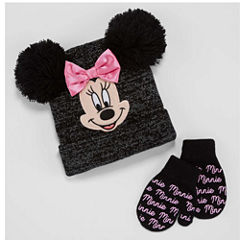 Abg Girls 2-pc. Minnie Mouse Cold Weather Set-Big Kid