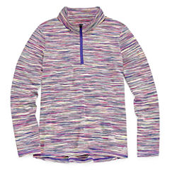 Xersion Quarter-Zip Pullover - Big Kid Girls