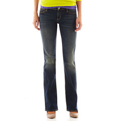 Arizona Bootcut Jeans - Juniors