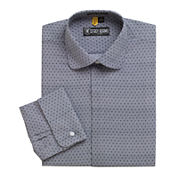 Stacy Adams® Granada Patterned French Cuff Dress Shirt
