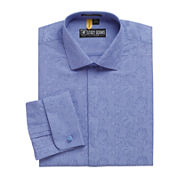 Stacy Adams® Kyoto Patterned French Cuff Dress Shirt