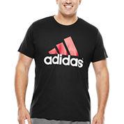 adidas® Adilogo Tee-Big & Tall