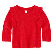 Arizona Girls Long Sleeve T-Shirt-Baby