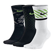 Nike® 3-pk. Mens Dri-FIT Triple Fly Crew Socks - Big & Tall
