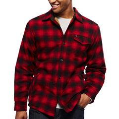 ARGYLECULTURE Long-Sleeve Shirt Jacket
