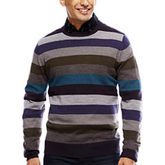 ARGYLECULTURE Long-Sleeve Striped Sweater