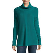 Liz Claiborne® Long-Sleeve Turtleneck