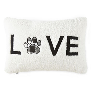 Paw Amp Tail Love Paw Decorative Pillow