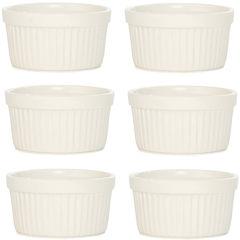 BergHOFF® Bianco Set of 6 Porcelain Ramekins