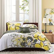 Mi Zone Mackenzie Floral Quilt Set