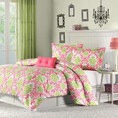 Mi Zone Monica Damask Comforter Set & Accessories