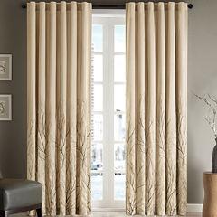 Madison Park Eliza Rod-Pocket/Back-Tab Curtain Panel