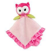 Okie Dokie® Owl Snuggle Buddy Blanket