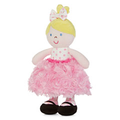 Okie Dokie® Blonde Rattle Dolly