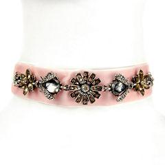 Arizona Womens Clear Choker Necklace