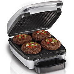 Hamilton Beach® Indoor Grill with Removable Grids