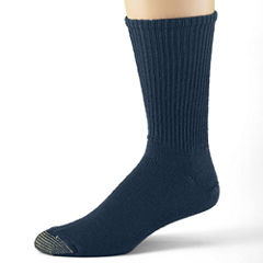 Gold Toe® 3-pk. Casual Cotton Fluffies® Crew Socks–Big & Tall