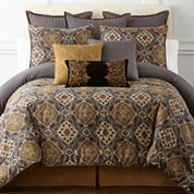 Royal Velvet Montague 4-pc. Comforter Set & Accessories