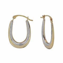 10K Gold Hoop Earrings