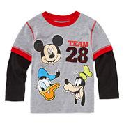 Okie Dokie Mickey Team 28 T-Shirt - Toddler 2T-5T